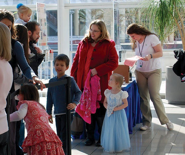 Young students from across South Carolina lined up to see the Columbia Classical Ballet's production of Cinderella at Columbia's Koger Center last Thursday and Friday.