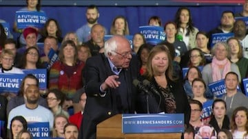 Sanders is not letting his Super Tuesday Loss slow down his campaign