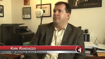 Political Science Professor Kirk Randazzo doesn't believe Sanders has a shot after Super Tuesday.
