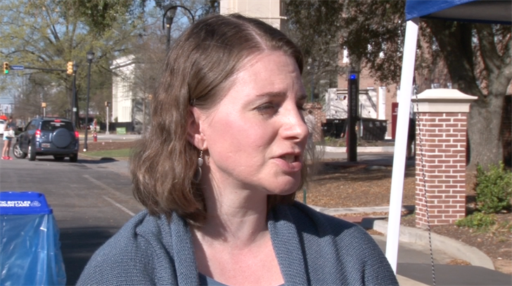 Margerie Duffie, spokeswoman for health services, said USC is making an effort to spread the word about sexual violence across the USC campus.