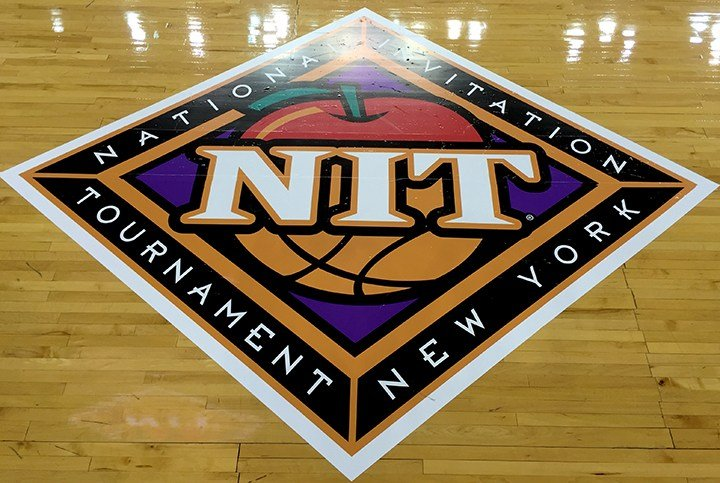 With the Gamecocks hosting games as a No. 1 seed, the Colonial Life Arena court will showcase two NIT floor stickers.