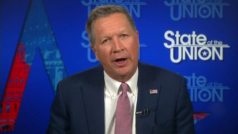 Republican Presidential candidate John Kasich tells CNN he has the momentum to stop Donald Trump.