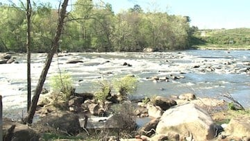 The attack happened along the Saluda River.