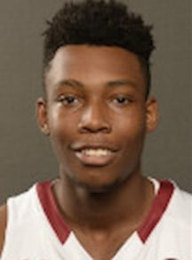 Freahman forward Jamall Gregory played 20 games and averaged 1.7 points per game