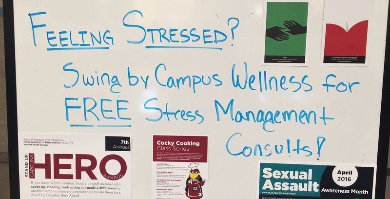 Stop by Strom for a free Stress Management Consultation.