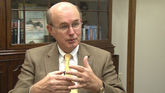 Sen. Larry Martin touched on why it can be hard for minors to get an order of protection or restraining order.