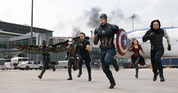 Captain America leads a team of heroes consisting of the Winter Soldier, Scarlet Witch, Hawkeye, Ant-Man and Falcon who are fighting to keep superheroes independent of government regulation.