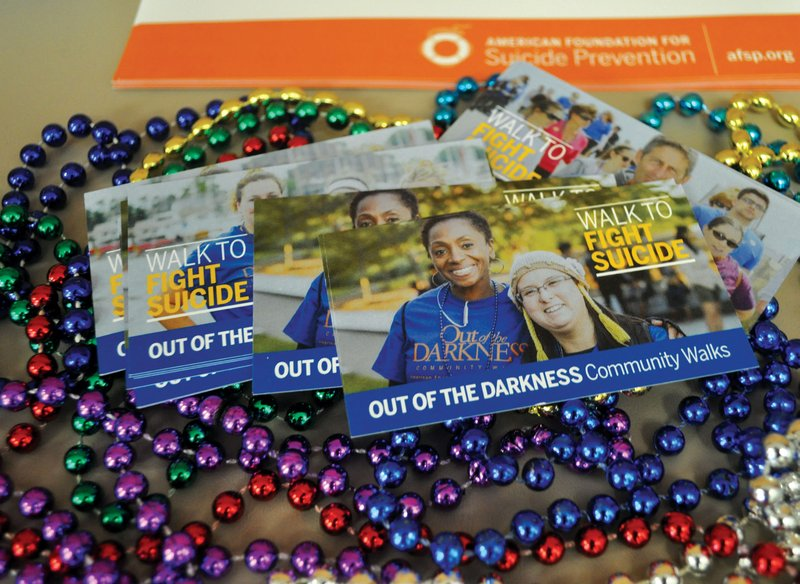 The Out of the Darkness walk hosted by the American Foundation for Suicide Prevention is a supportive environment for anyone who has been affected by suicide. At the walk, participants wear beads that represent different kinds of loss based on color.
