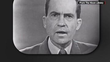 It was Nixon's sweating on the first presidential debate broadcasted on TV that made him look poorly to those who watched.