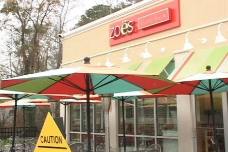 Zoe's Kitchen on Forest Drive was robbed twice over the holidays.