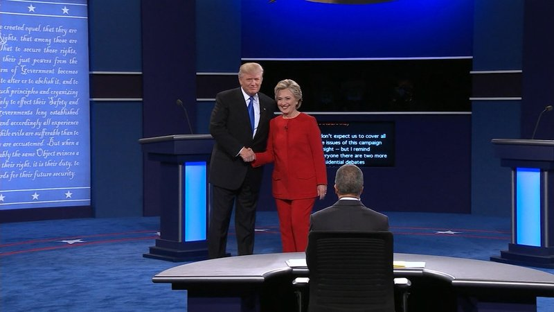 The forum was designed to help voters decided between presidential candidates Donald Trump and Hillary Clinton.