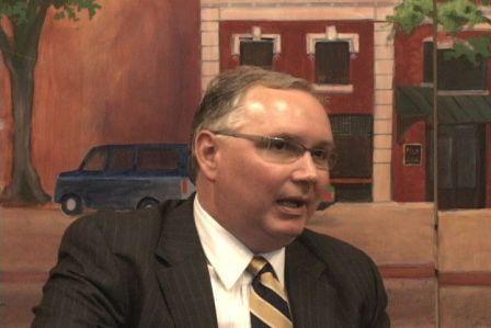 Matt Kennell of the City Center Partnership hopes Mast will spur new development downtown