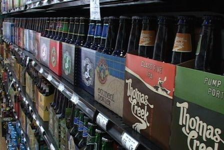 The beer selection at Green's Discount Beverages could soon be sampled in the store by customers.