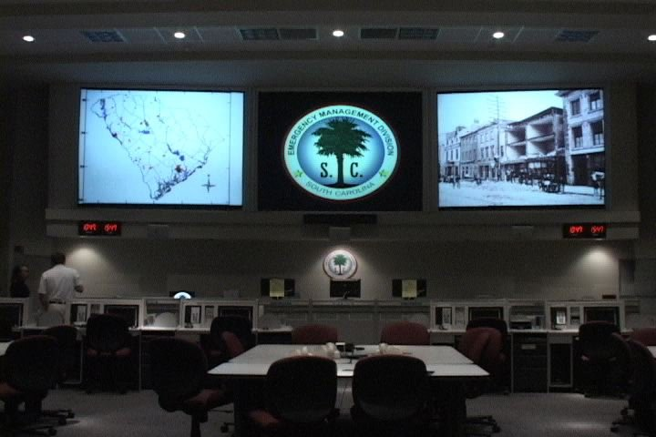 If a natural disaster were to happen here officials would gather inside South Carolina's Emergency Management Division.