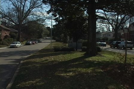 Katie was robbed on Saluda Ave. less than two blocks from Five Points.
