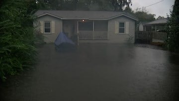 Students had to worry about their families being trapped inside their homes due to flooding.