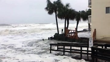 Hurricane Matthew slammed the South Carolina coast and caused lots of damage with high winds and rising water levels.