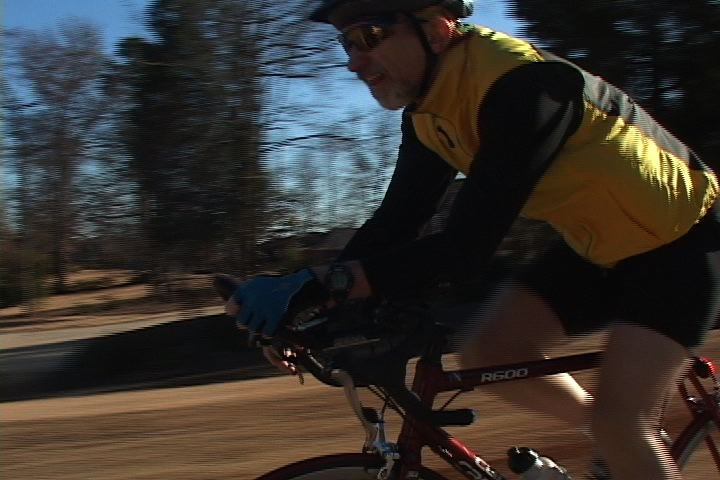 USC professor Patrick Hickey trains for Ironman