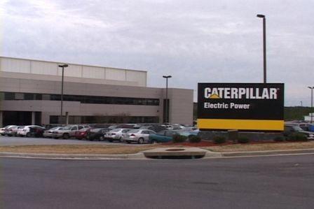 Caterpillar Generator Plant in Newberry, SC