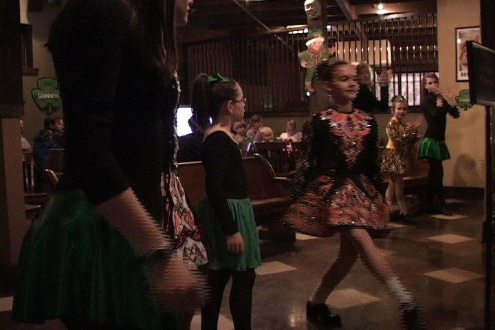 "Simone Decoteau performing a ""hard shoe"" dance at Rockaways."