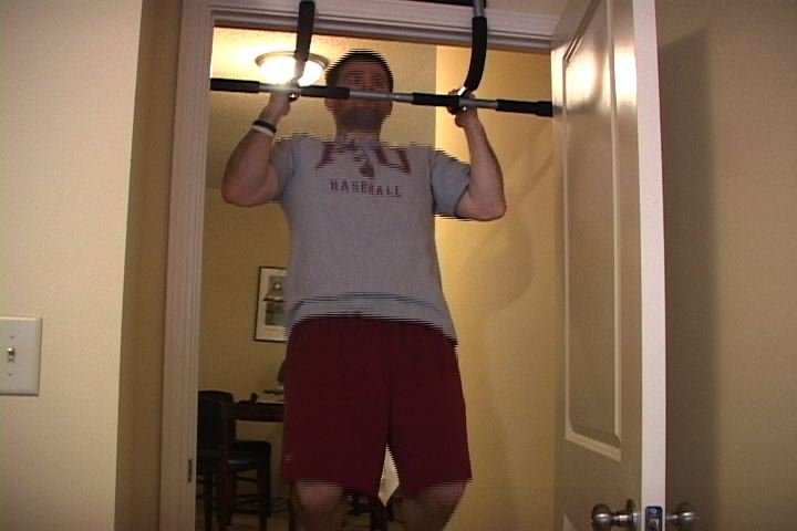 Brett Longenecker works out at least two hours everyday.