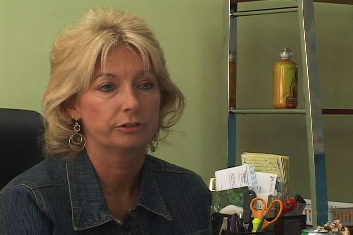 Owner of Vista Tanning Pamela Wessinger is angry about Healtcare Bill tanning tax.