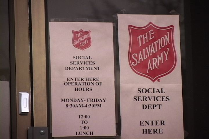 Melanie now works as the grants coordinator at Columbia's Salvation Army