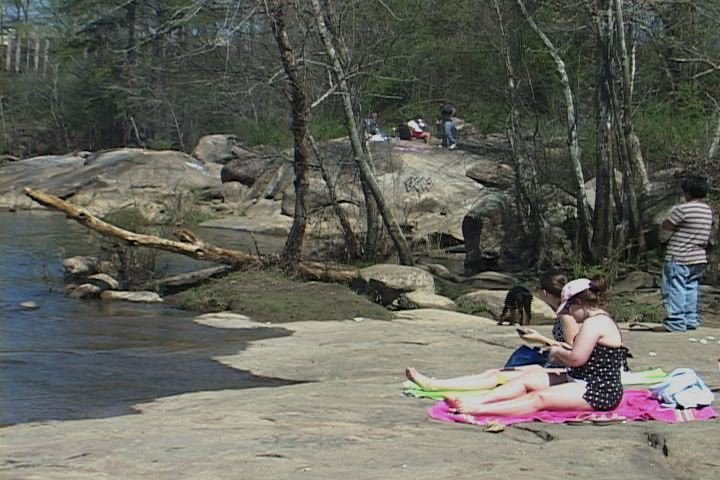 The Saluda River is now filled with high amounts of phosphorus