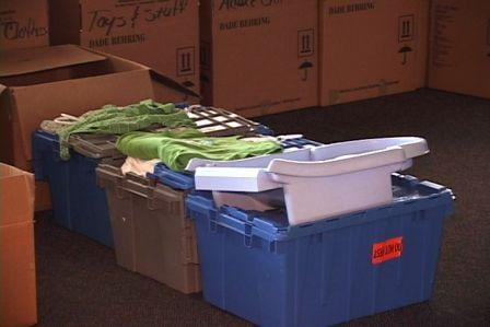 Many donations were accepted on at Good Deed Friday