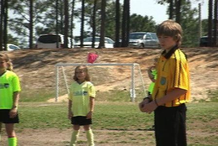 Soccer referees range from kids still in school to parents.