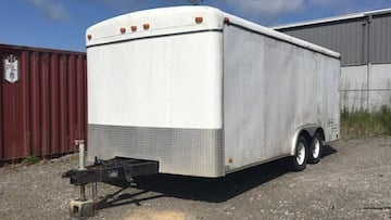Trailers do not have to be registered in South Carolina, so Larratt's has not been found yet.