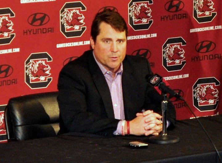 Head football coach Will Muschamp speaks about the tough test in Missouri on Saturday. USC now has  four wins and four losses with four games to go. Two wins are all that's needed to be eligible for a bowl game.