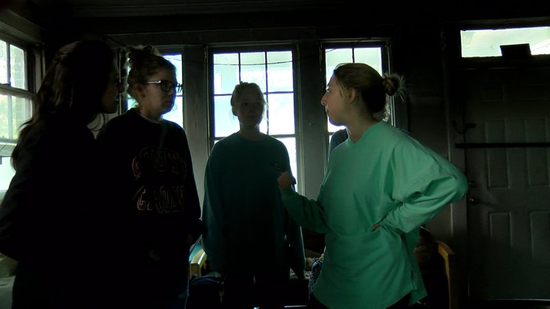 The three roommates at 503 Harden Street discuss plans for what comes next after their house caught on fire.