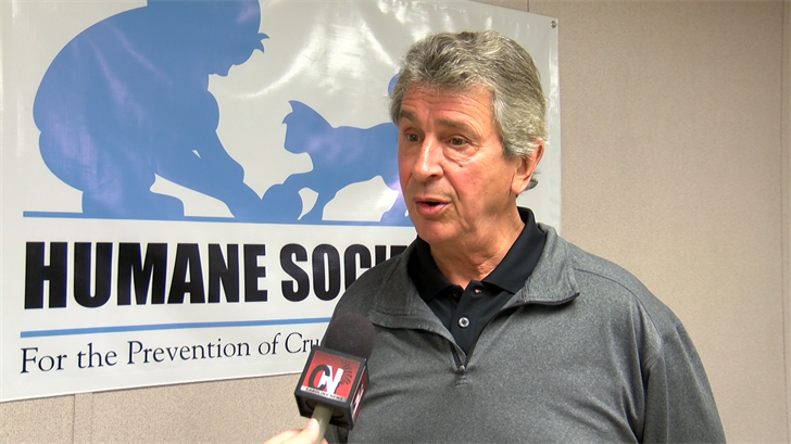 Humane Society's Executive Director Wayne Brennessel says the incident is horrifying.