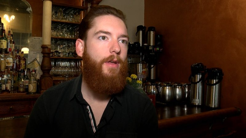 Corey Steranka says people don't always choose the drink that aligns with their political preference