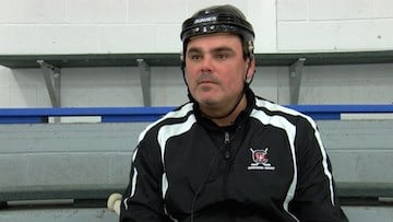 Head Coach Allan Sirois hopes more fans come out to cheer on Gamecock Hockey.