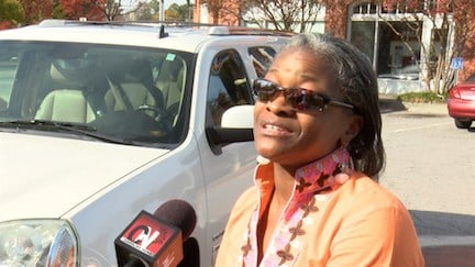 Tiffany Lewis says having two young kids made the arrest of Officer Rogers very disturbing.