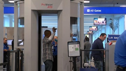 TSA agents say high-level security doesn't change during the holiday season.