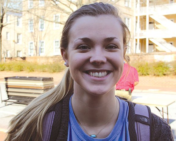 Freshman Kara McClung said her favorite part of the Super Bowl is the commercials and her favorite ads are the ones that stick out.