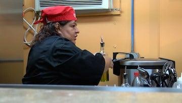 Chef Mary Segura sharing her Peruvian culture through her food.