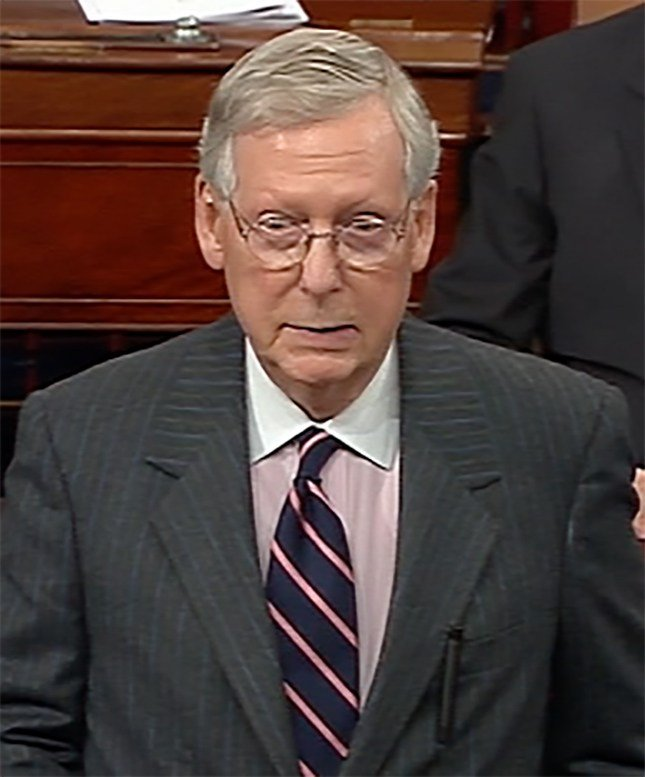 Majority Leader Mitch McConnell silenced Senator Warren during her speech against Jeff Sessions.