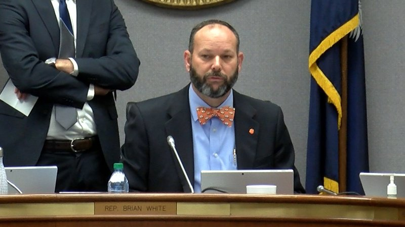 Representative Gary Simrill wrote House Bill 3516 to fund South Carolina road repair.