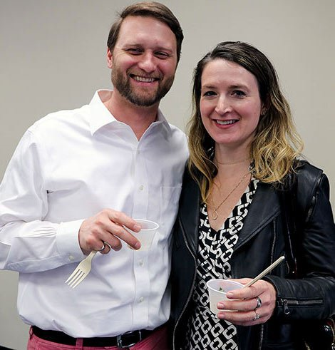 Heart Health Lunch attendees Nick and Allison Terracio both said they thought the revithia Moore-Pastides made was delicious. Allison said she cooks with mostly olive oil already, but the lunch was a good reminder she should try new and healthy recipes.
