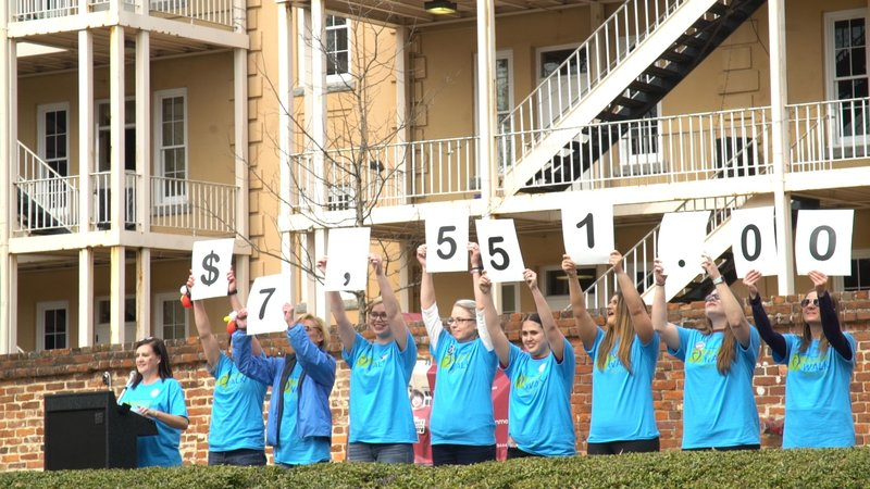 At the close of registration Friday evening, the organization raised $7,551.