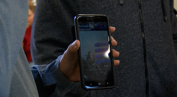 "A group of students successfully created an app called ""Through the Grapevine"" that is now available on androids."