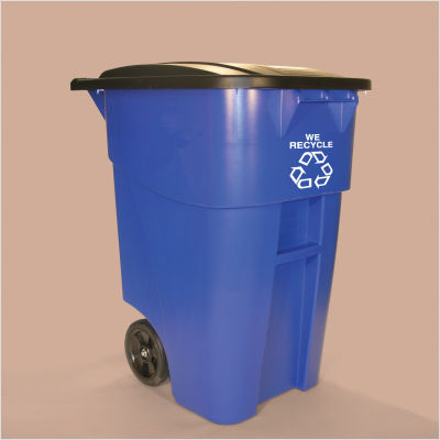 Recycling bins like this will be placed in bars and restaurants in Five Points to recycle beer bottles and other glass.