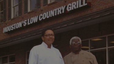 The picture above is of Houston's Low Country Grill owners Millie and Frank Houston