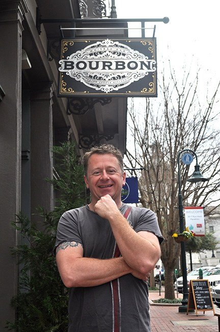 Kristian Niemi is the 2017 Columbia Mardi Gras King and the owner of Bourbon on Main Street. Bourbon, a Cajun-Creole restaurant and bar, is a sponsor of the Lagniappe 5k and will be selling gumbo at the festival.
