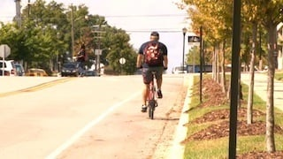 Bike Lanes like this one will be more common in Richland County with the Penny Tax.