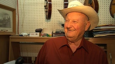 """Bill Wells hopes to keep the bluegrass tradition going even when """"he's on the other side."""""""